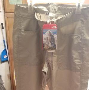 Tan north face pants